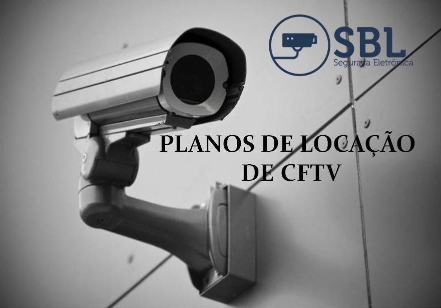 Locação de câmeras de segurança
